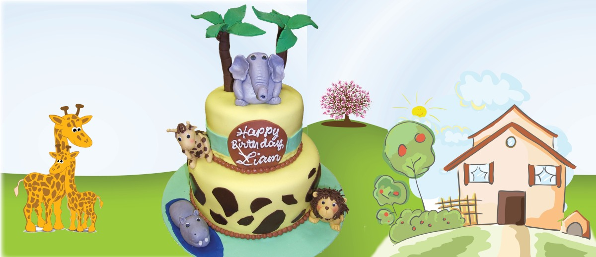 Jungle Cake Slider